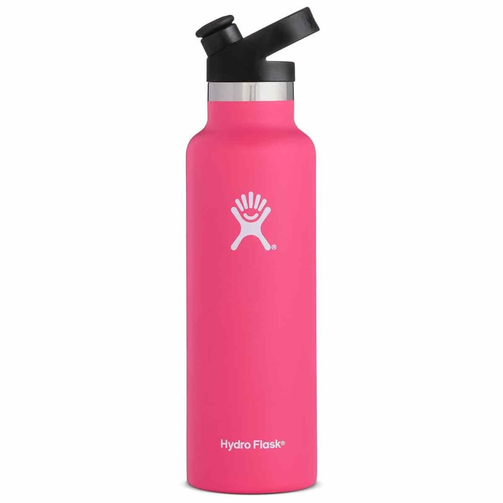 HYDRO FLASK 21 oz. Standard Mouth Water Bottle with Sport Cap - WATERMELON