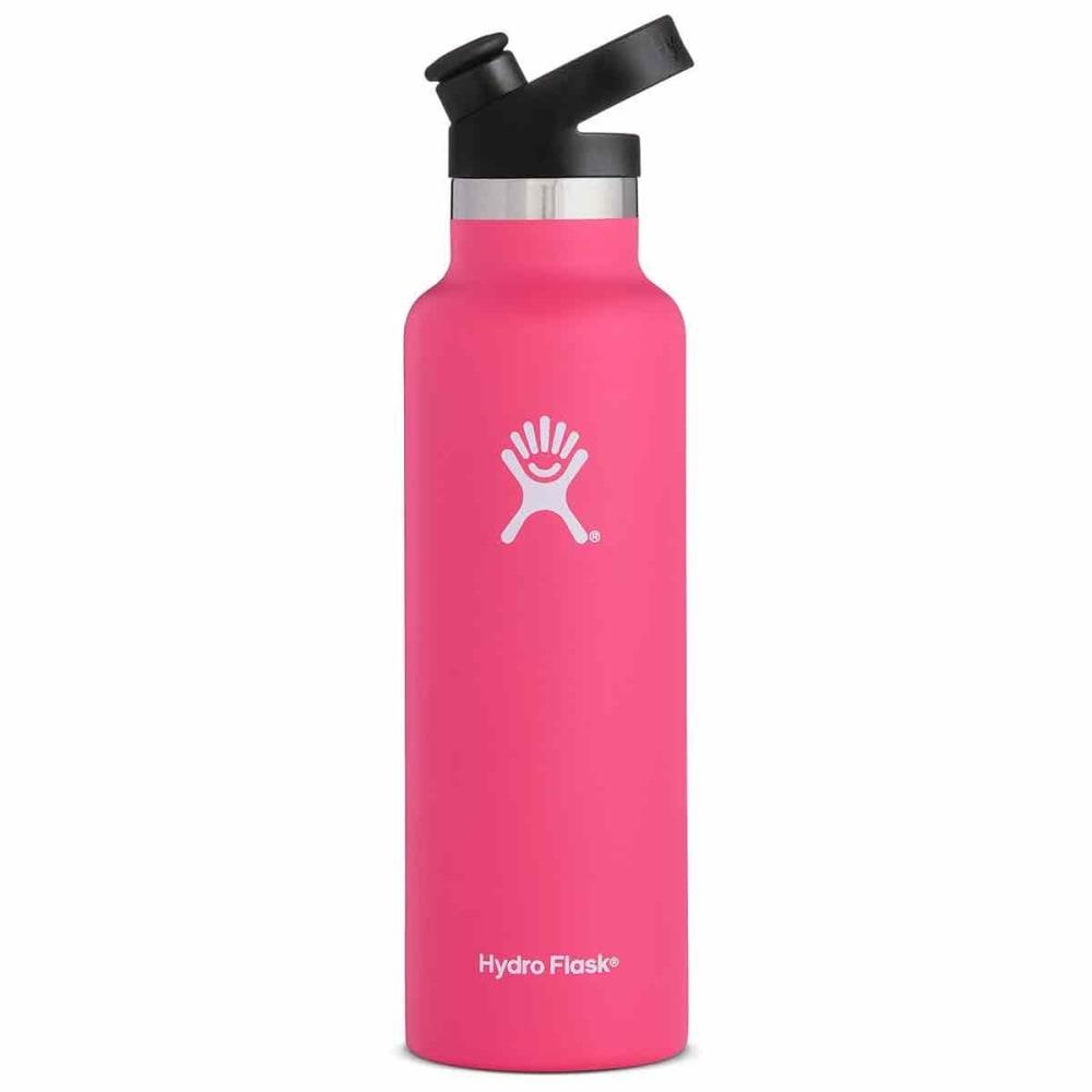 HYDRO FLASK 21 oz. Standard Mouth Water Bottle with Sport Cap - WATERMELON