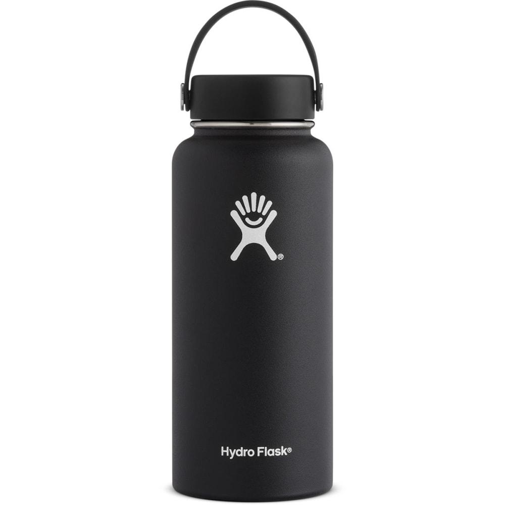 HYDRO FLASK 32 oz. Wide Mouth Water Bottle - BLACK W32TS001