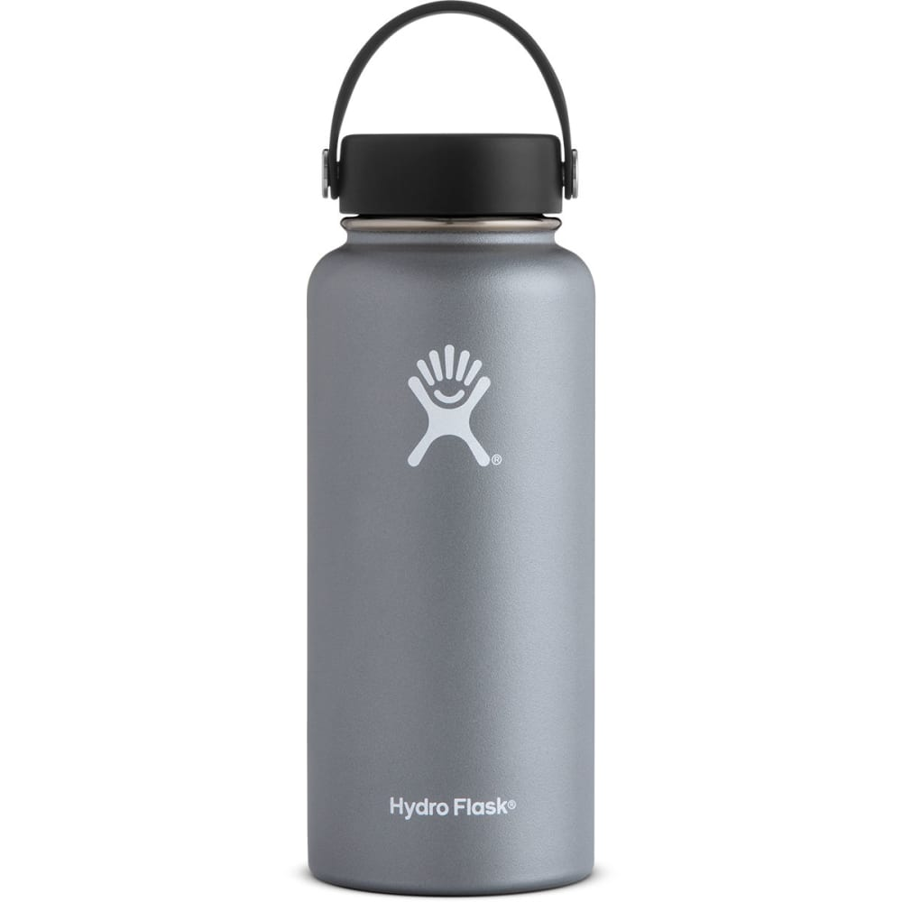 HYDRO FLASK 32 oz. Wide Mouth Water Bottle - GRAPHITE W32TS050