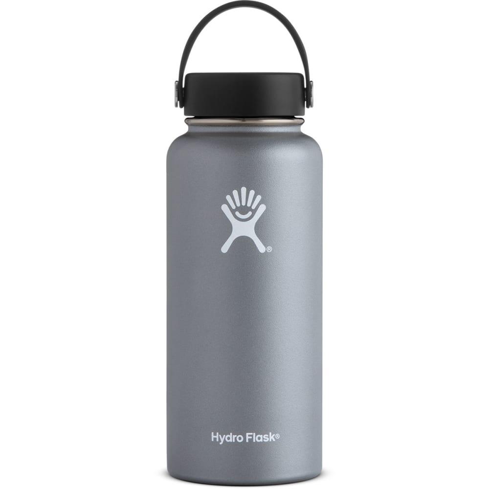 HYDRO FLASK 32 oz. Wide Mouth Water Bottle - GRAPHITE W32TS050