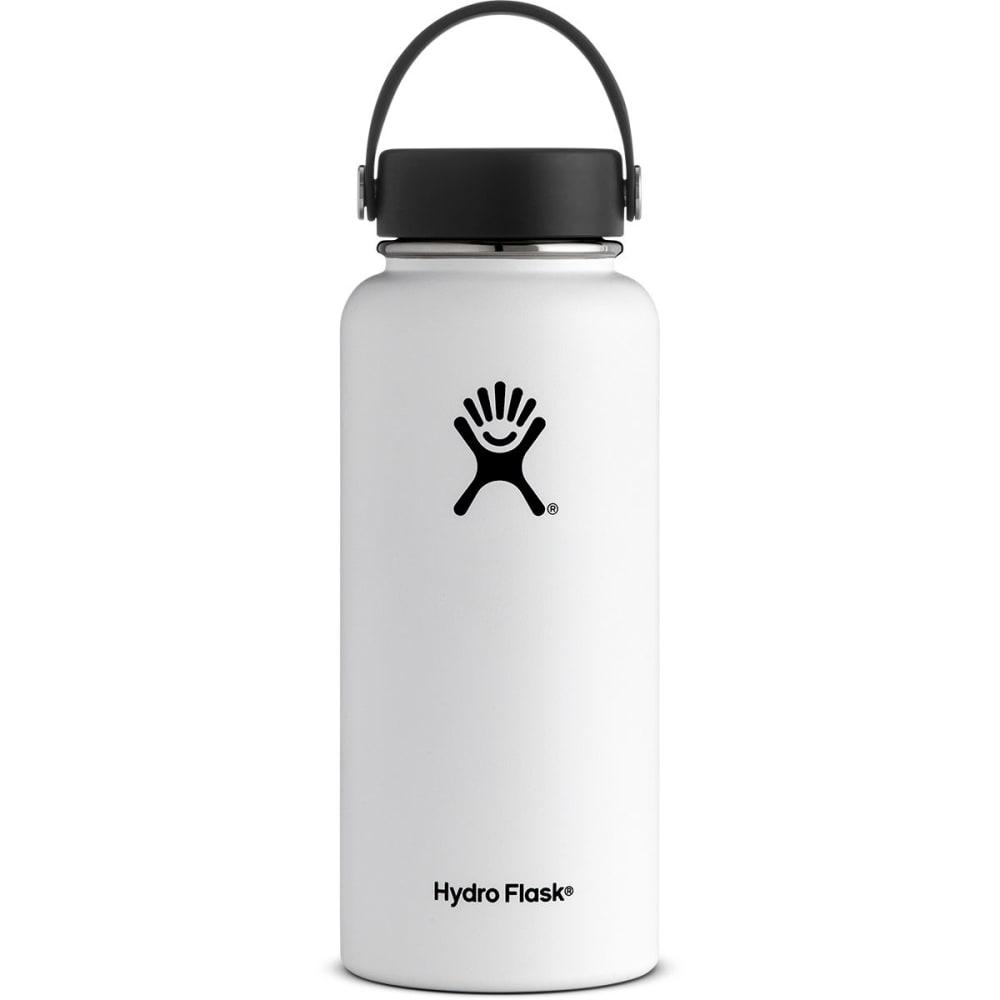 HYDRO FLASK 32 oz. Wide Mouth Water Bottle - WHITE W32TS110