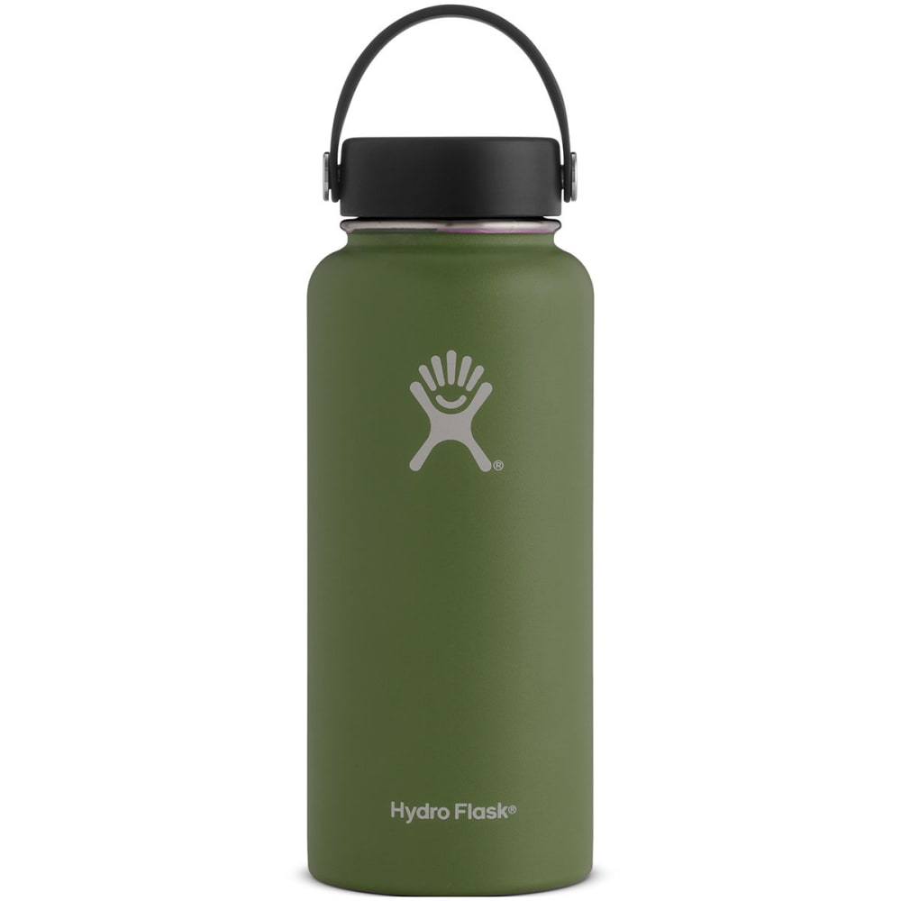 HYDRO FLASK 32 oz. Wide Mouth Water Bottle - OLIVE W32TS306