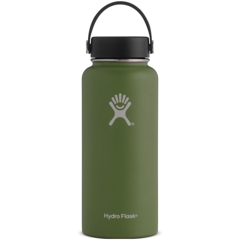 HYDRO FLASK 32 oz. Wide Mouth Water Bottle - OLIVE W32TS306