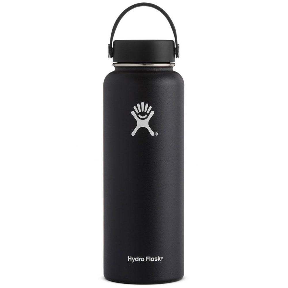 HYDRO FLASK 40 oz. Wide Mouth Water Bottle - BLACK W40TS001