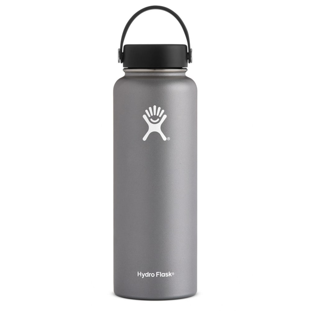 HYDRO FLASK 40 oz. Wide Mouth Water Bottle - GRAPHITE W40TS050