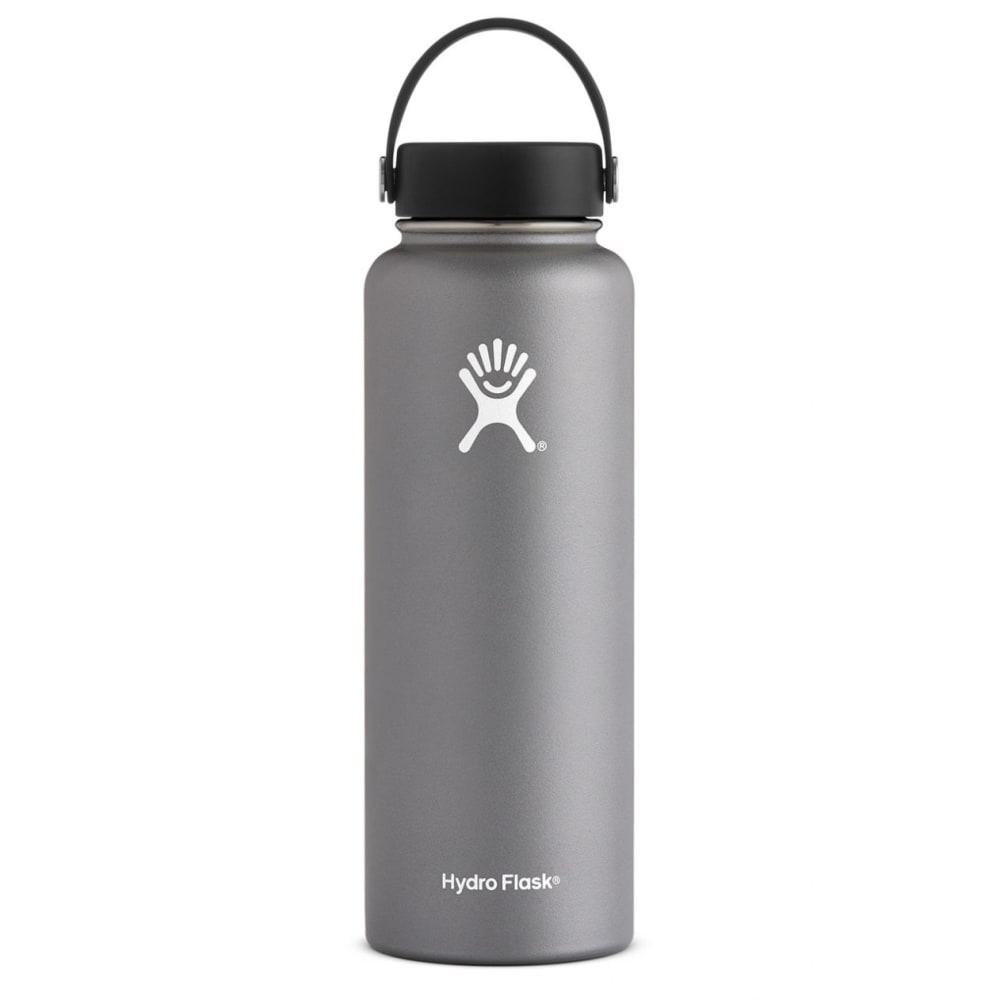 HYDRO FLASK 40 oz. Wide Mouth Water Bottle - GRAPHITE W40TS050