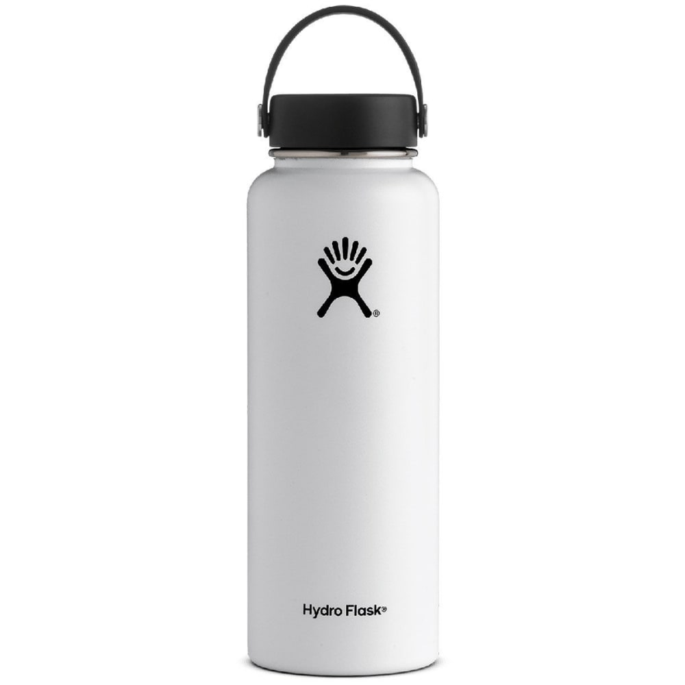 HYDRO FLASK 40 oz. Wide Mouth Water Bottle - WHITE
