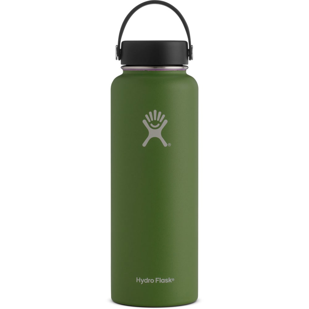 HYDRO FLASK 40 oz. Wide Mouth Water Bottle - OLIVE W40TS306