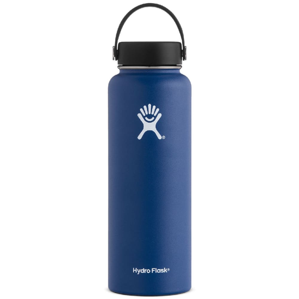 HYDRO FLASK 40 oz. Wide Mouth Water Bottle - COBALT W40TS407