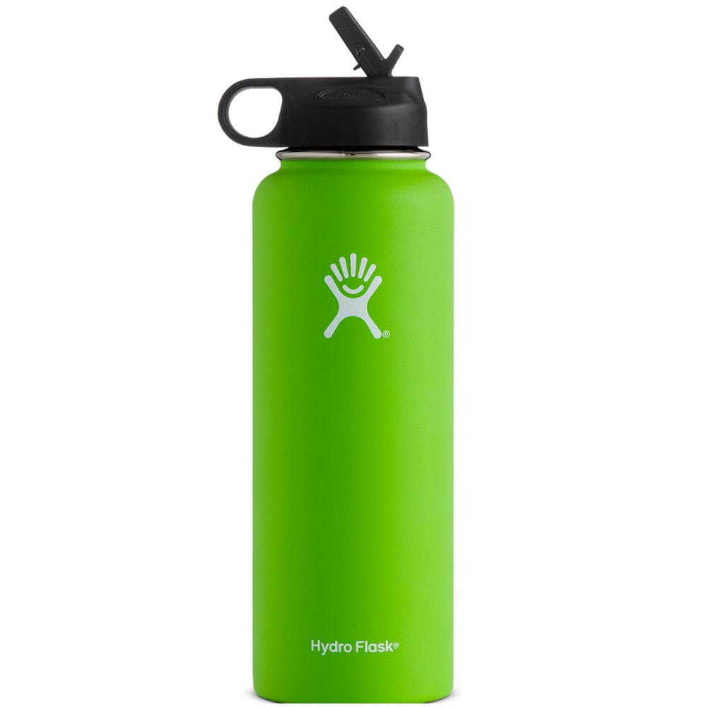HYDRO FLASK 40 OZ Wide Mouth with Straw Lid - KIWI W40SW320