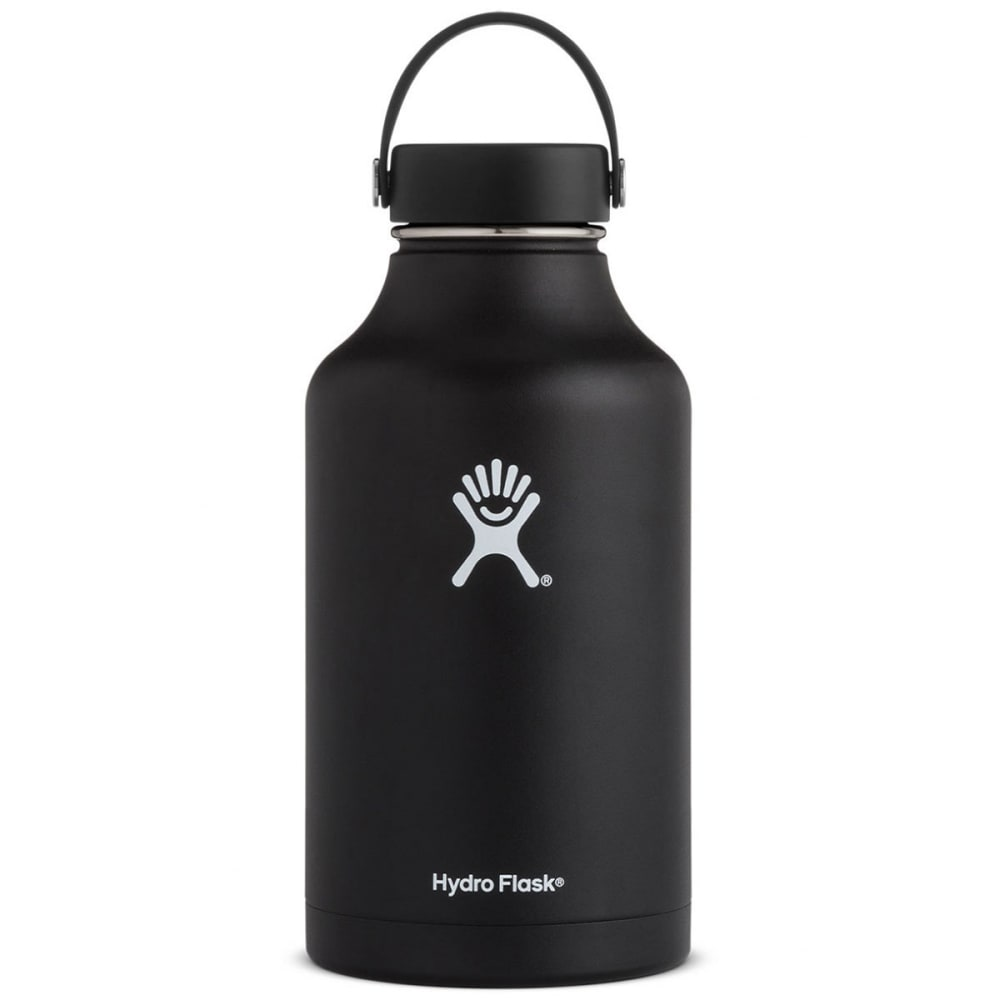 HYDRO FLASK 64 oz. Wide Mouth Water Bottle - BLACK W64TS001