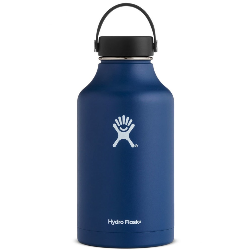 HYDRO FLASK 64 oz. Wide Mouth Water Bottle - COBALT W64TS407