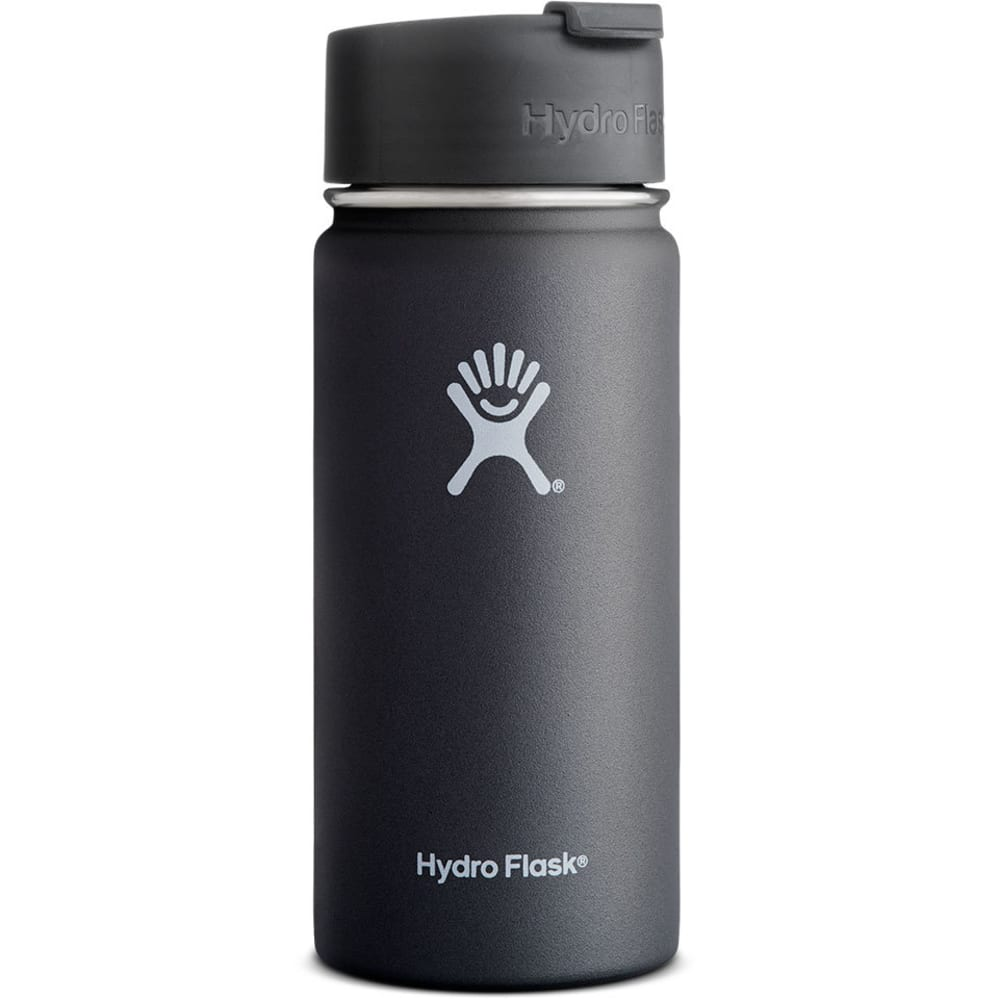 HYDRO FLASK 16 oz. Insulated Mug - BLACK W16FP001