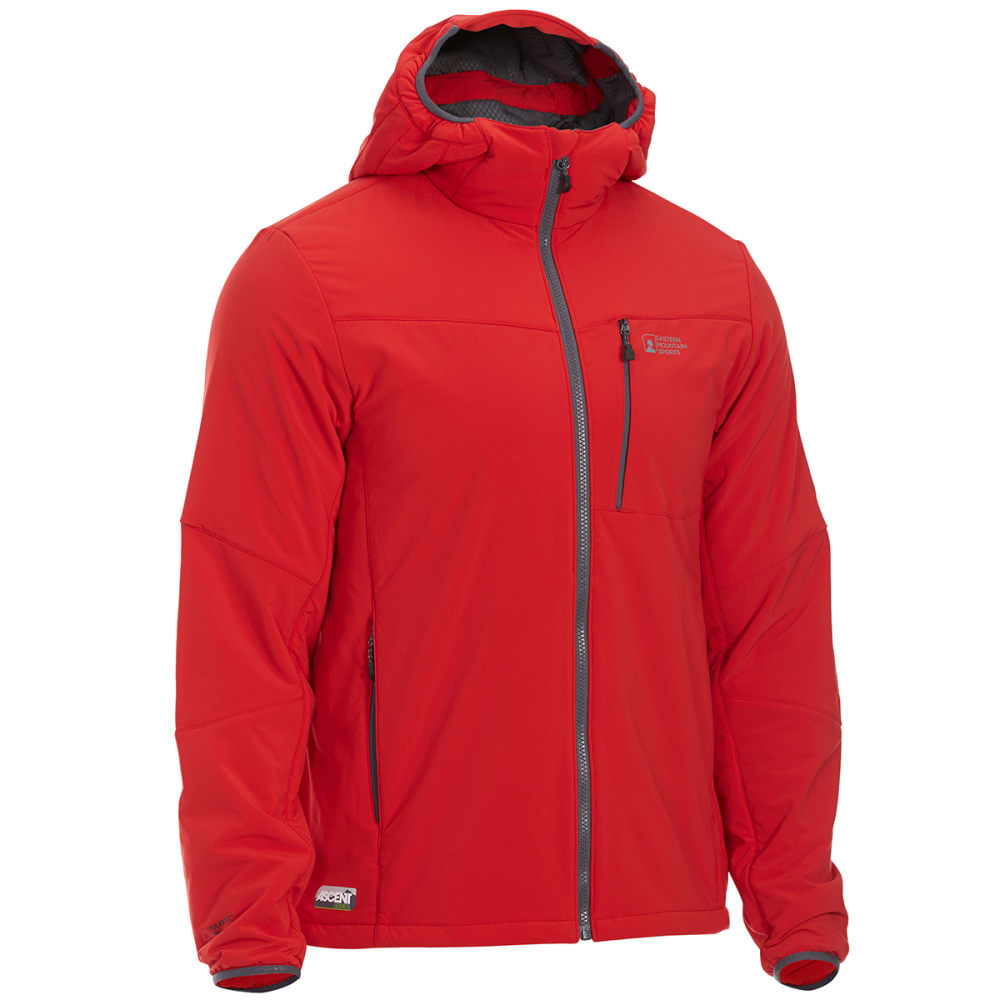 EMS Men's Alpine Ascender Stretch Jacket - SALSA