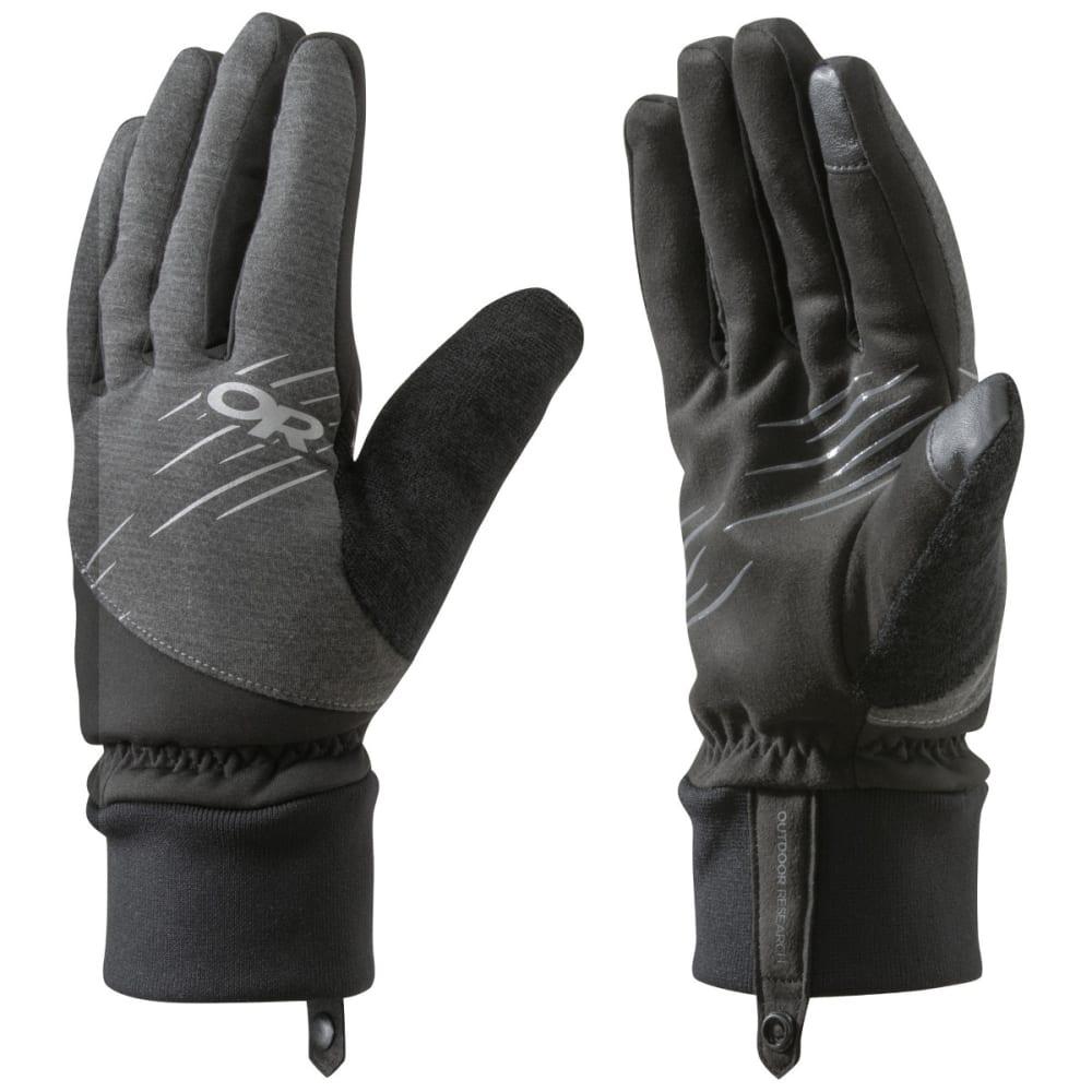 OUTDOOR RESEARCH Pacesetter Sensor Gloves, Black - BLACK