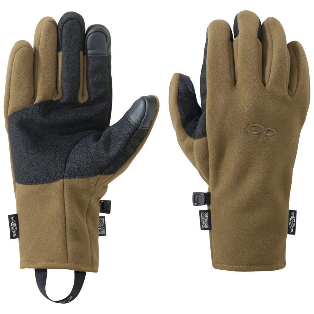 OUTDOOR RESEARCH Men's Gripper Sensor Gloves - COYOTE