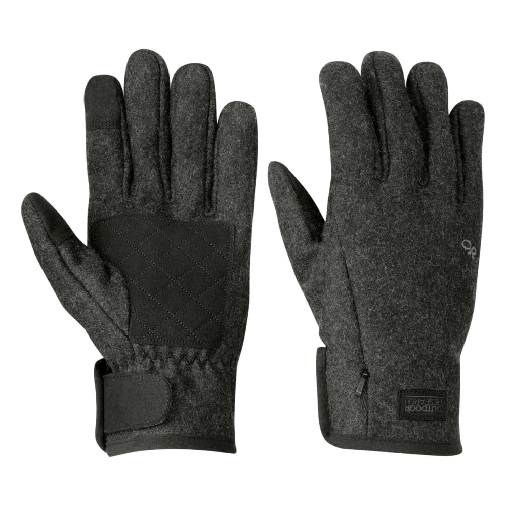 OUTDOOR RESEARCH Men's Turnpoint Sensor Gloves - CHARCOAL