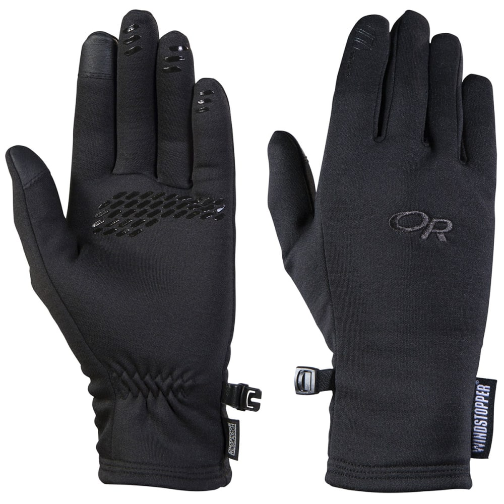 OUTDOOR RESEARCH Women's Backstop Sensor Gloves - BLACK