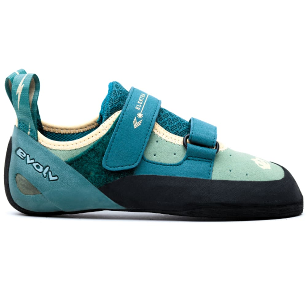 EVOLV Women's Elektra Climbing Shoes, Jade - JADE