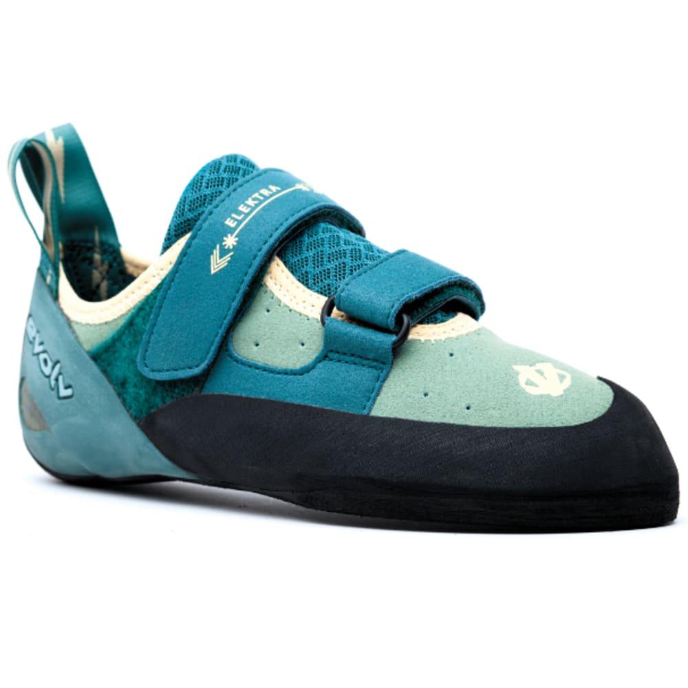 Evolv Women's Elektra Climbing Shoes, Jade - Size 6.5