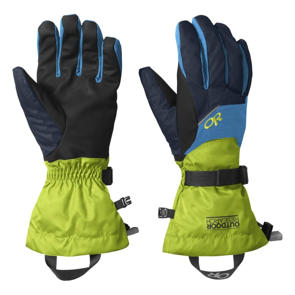 OUTDOOR RESEARCH Men's Adrenaline Gloves - NIGHT/LMNGRS/TAHOE