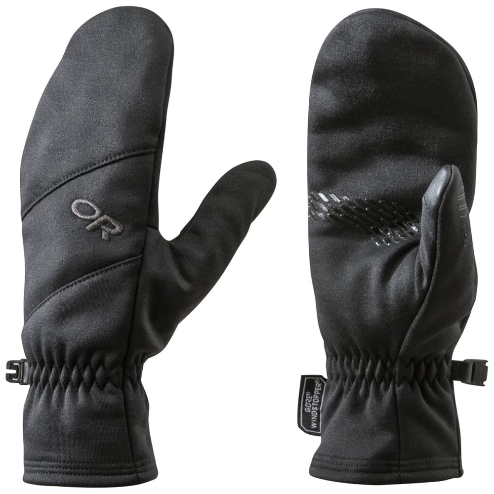 OUTDOOR RESEARCH Men's Backstop Sensor Mitts - BLACK