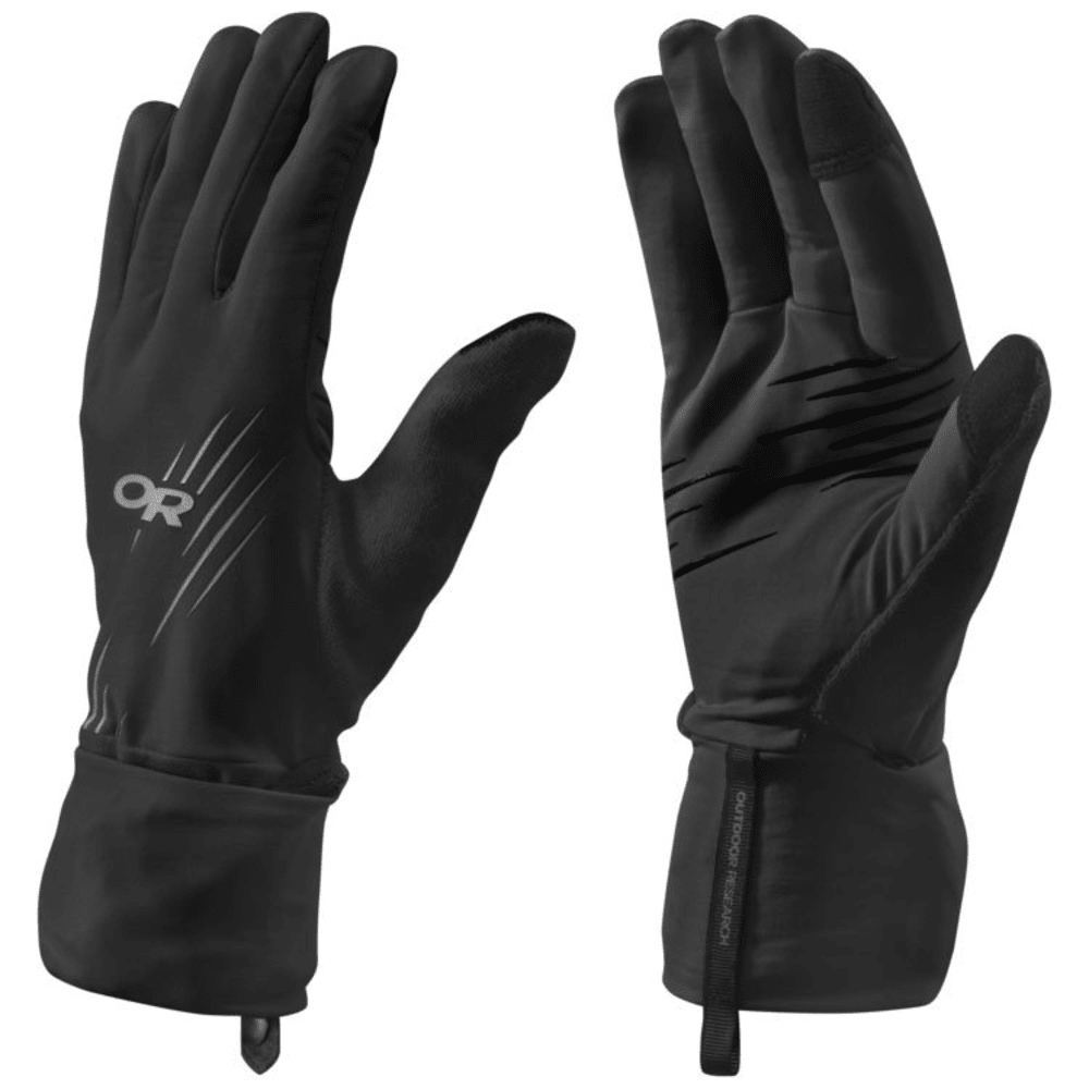 OUTDOOR RESEARCH Overdrive Convertible Gloves - CHARCOAL/BLACK