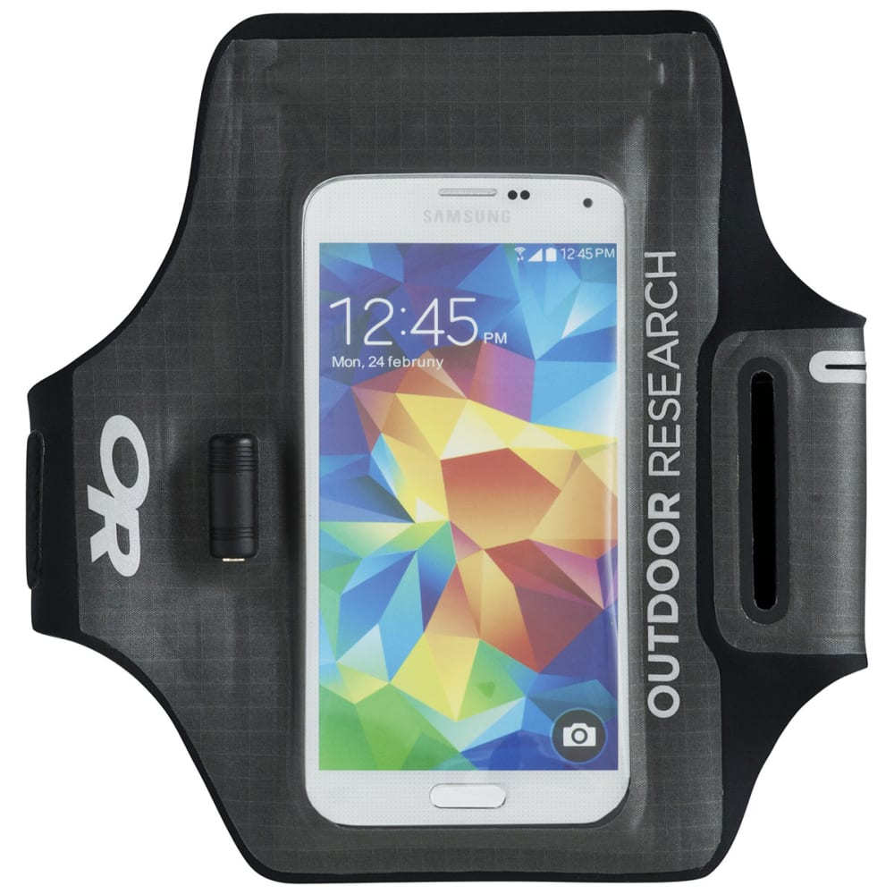 OUTDOOR RESEARCH Sensor Dry Pocket Armband - CHARCOAL