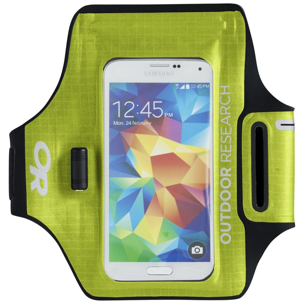 OUTDOOR RESEARCH Sensor Dry Pocket Armband - LEMONGRASS