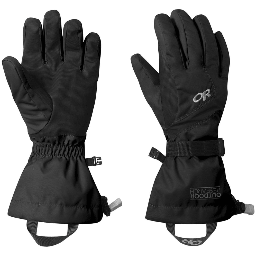 OUTDOOR RESEARCH Women's Adrenaline Gloves - BLACK