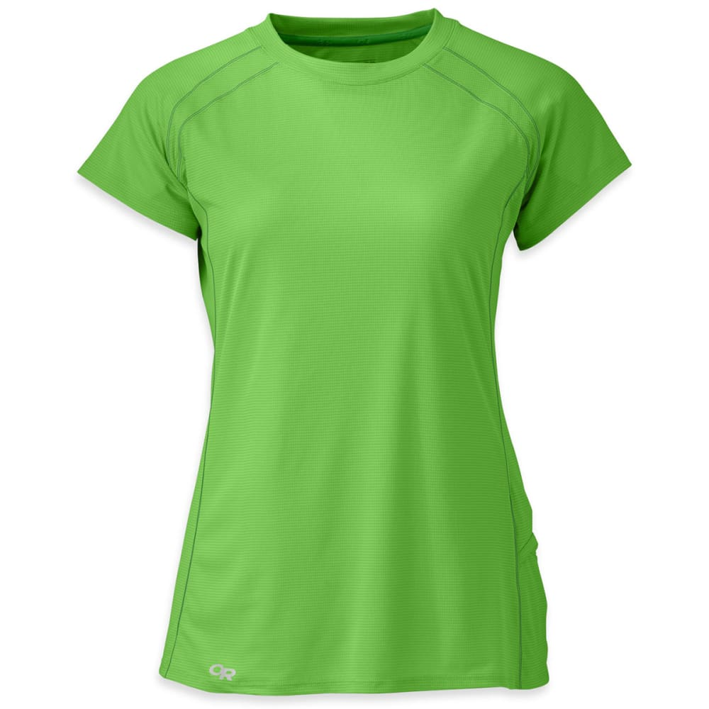 OUTDOOR RESEARCH Women's Echo Short-Sleeve Tee - APPLE/LAUREL