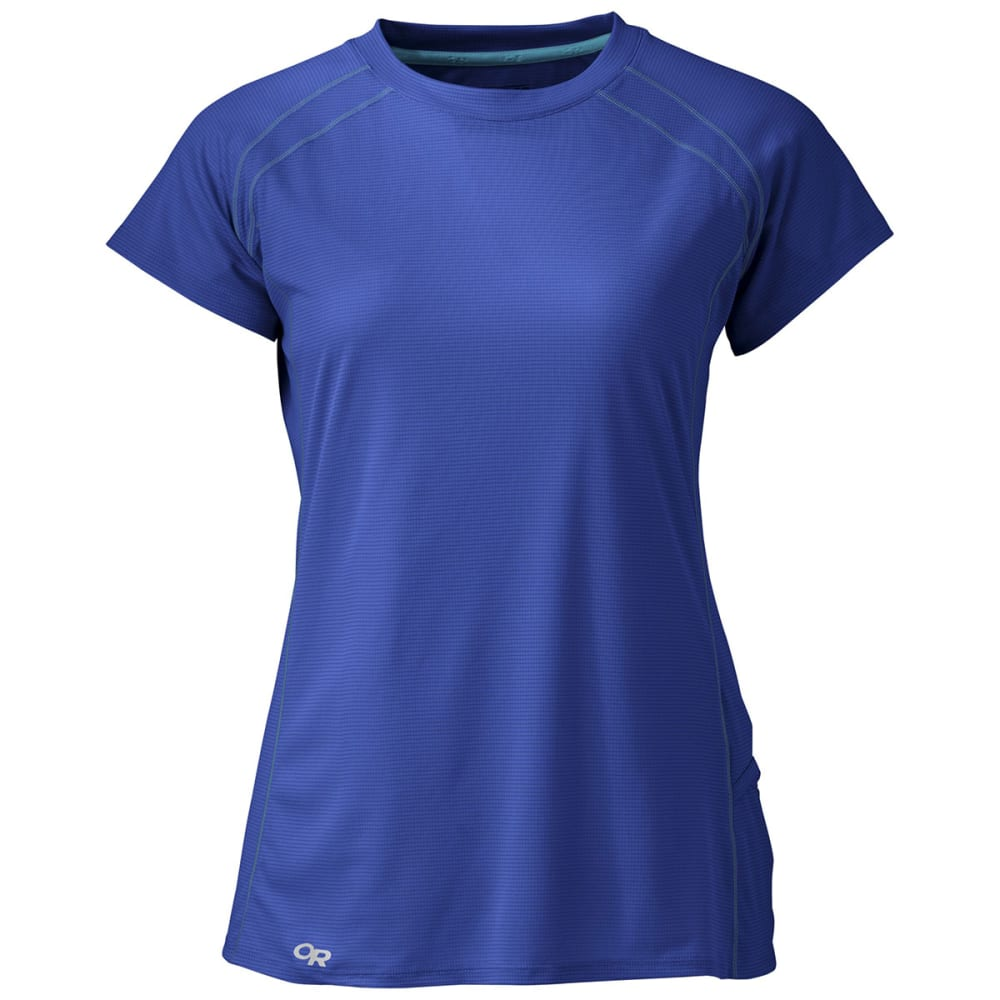 OUTDOOR RESEARCH Women's Echo Short-Sleeve Tee - BALTIC/TYPHOON