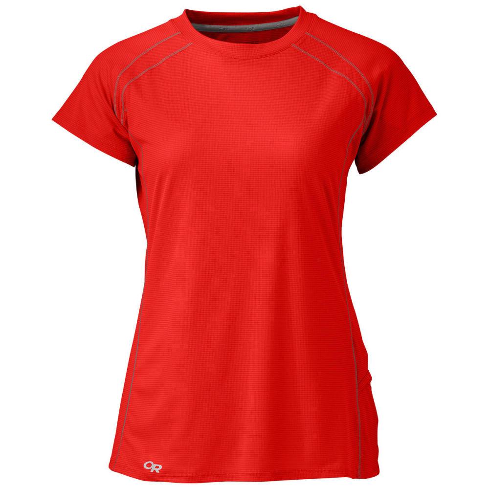 OUTDOOR RESEARCH Women's Echo Short-Sleeve Tee - 1192-SAMBA