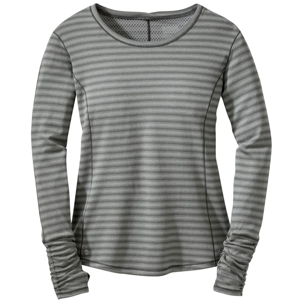 OUTDOOR RESEARCH Women's Keara Long-Sleeve Shirt - PEWTER/CHARCOAL