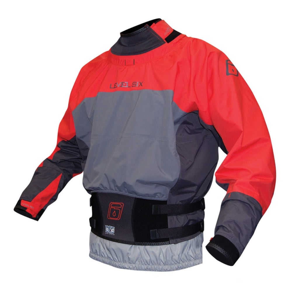 LEVEL SIX Men's Duke Drytop - BLAZE RED