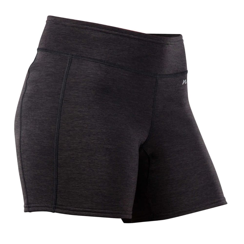 NRS Women's HydroSkin 0.5 Sport Shorts, 5 in. - CHARCOAL HEATHER