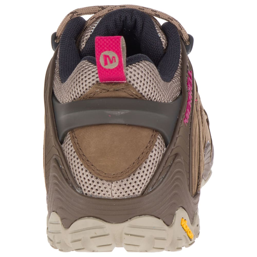 MERRELL Women's Chameleon 7 Low Hiking Shoes - MERRELL STONE