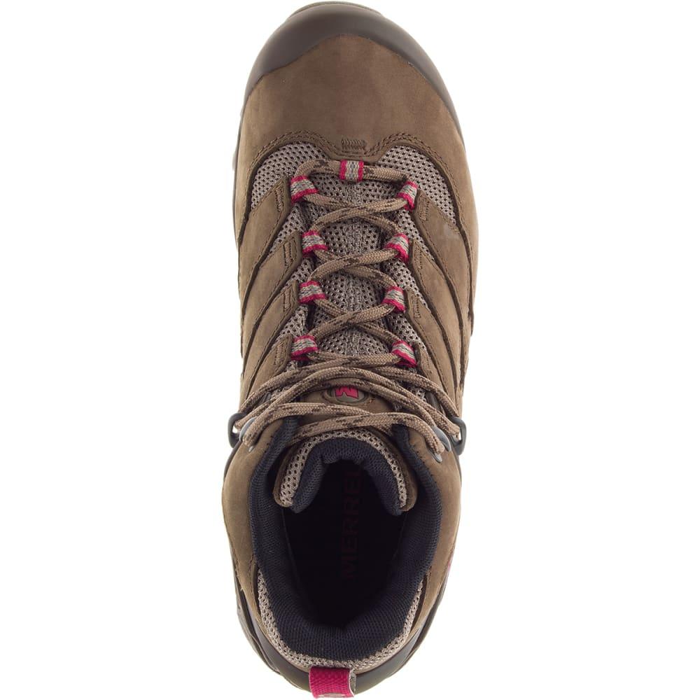 MERRELL Women's Chameleon 7 Mid Waterproof Hiking Boot - MERRELL STONE