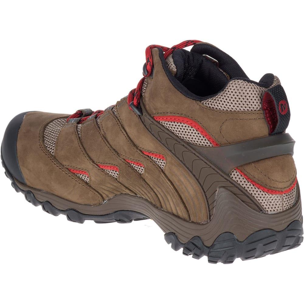 MERRELL Men's Chameleon 7 Mid Waterproof Hiking Boots - BOULDER