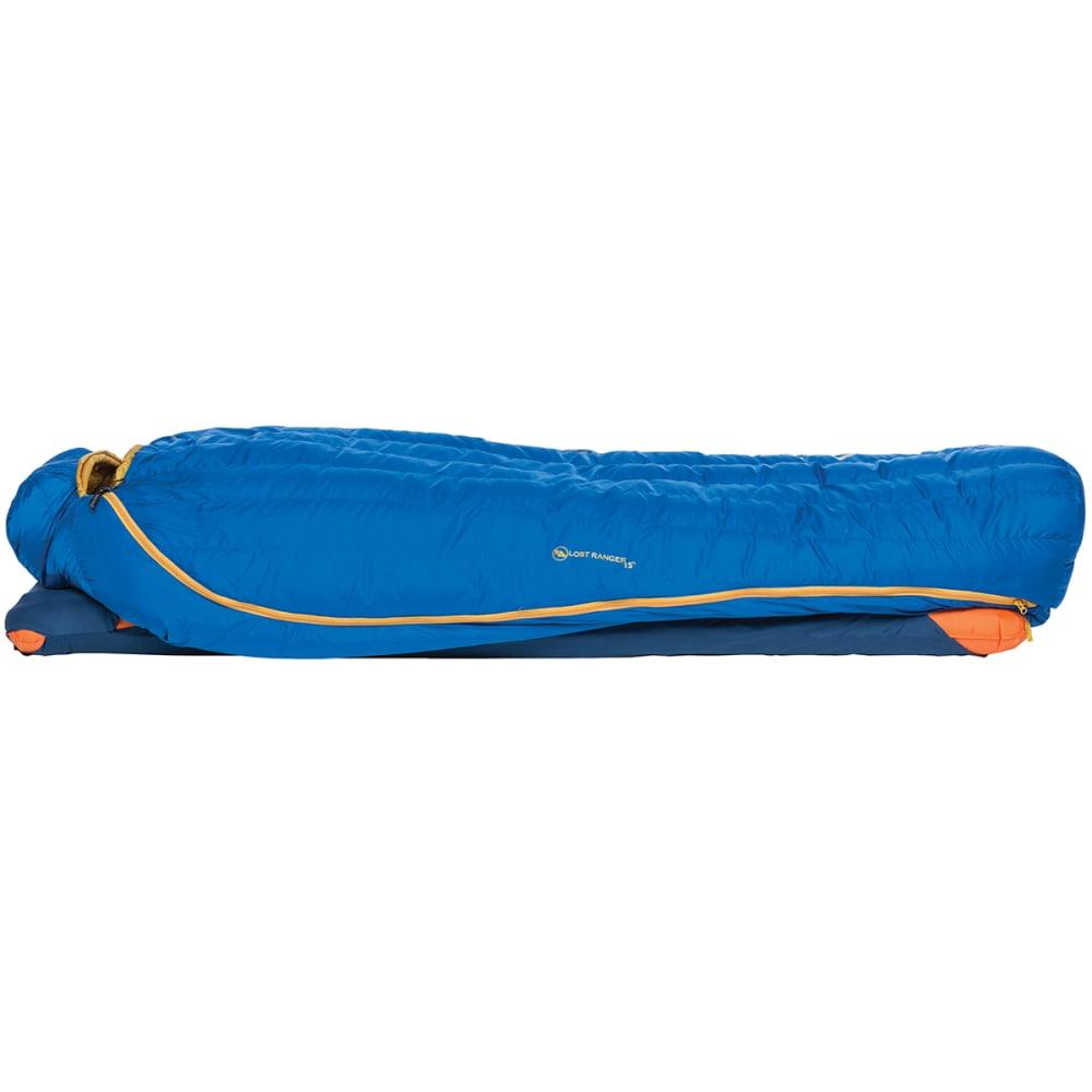 BIG AGNES Lost Ranger 15 Sleeping Bag, Regular - BLUE