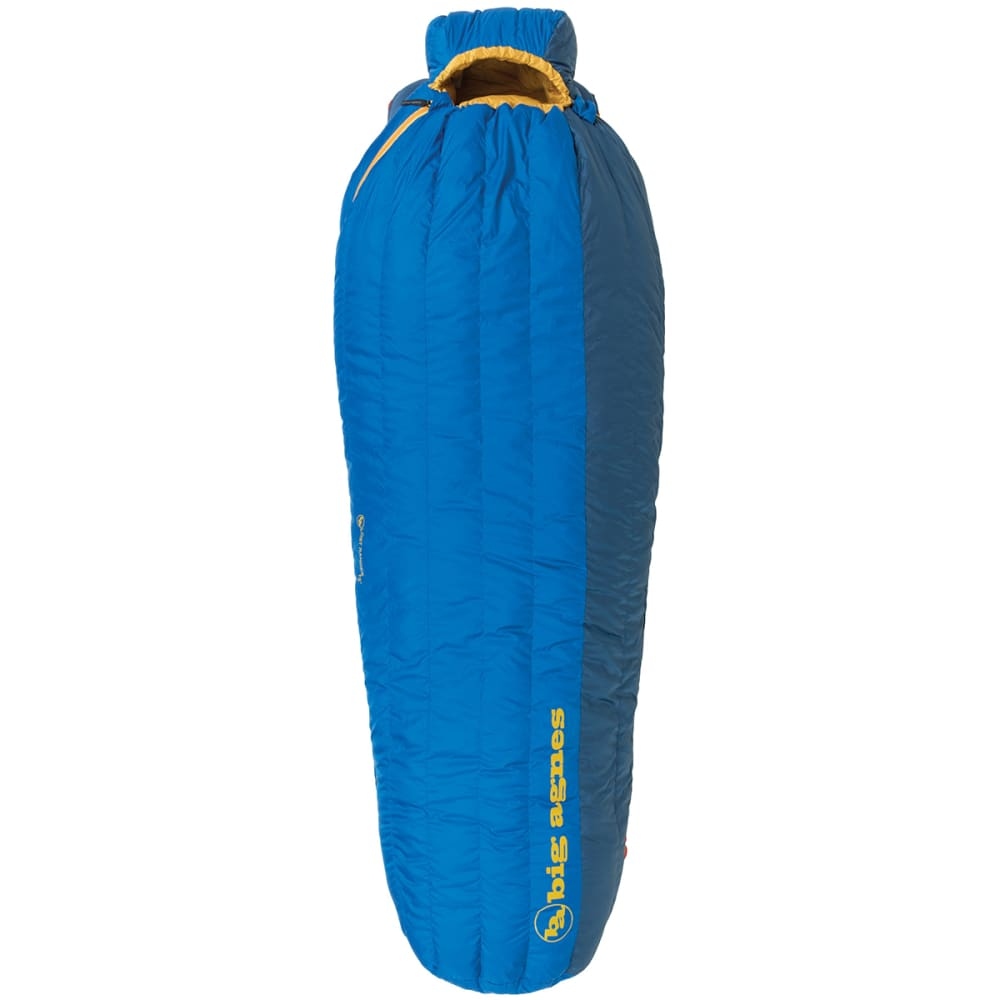BIG AGNES Lost Ranger 15 Sleeping Bag, Long  - BLUE