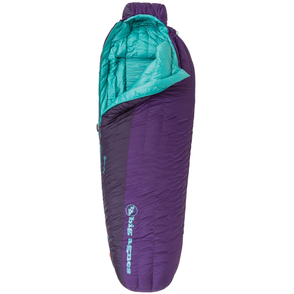 BIG AGNES Women's Roxy Ann 15 Sleeping Bag, Petite - PURPLE