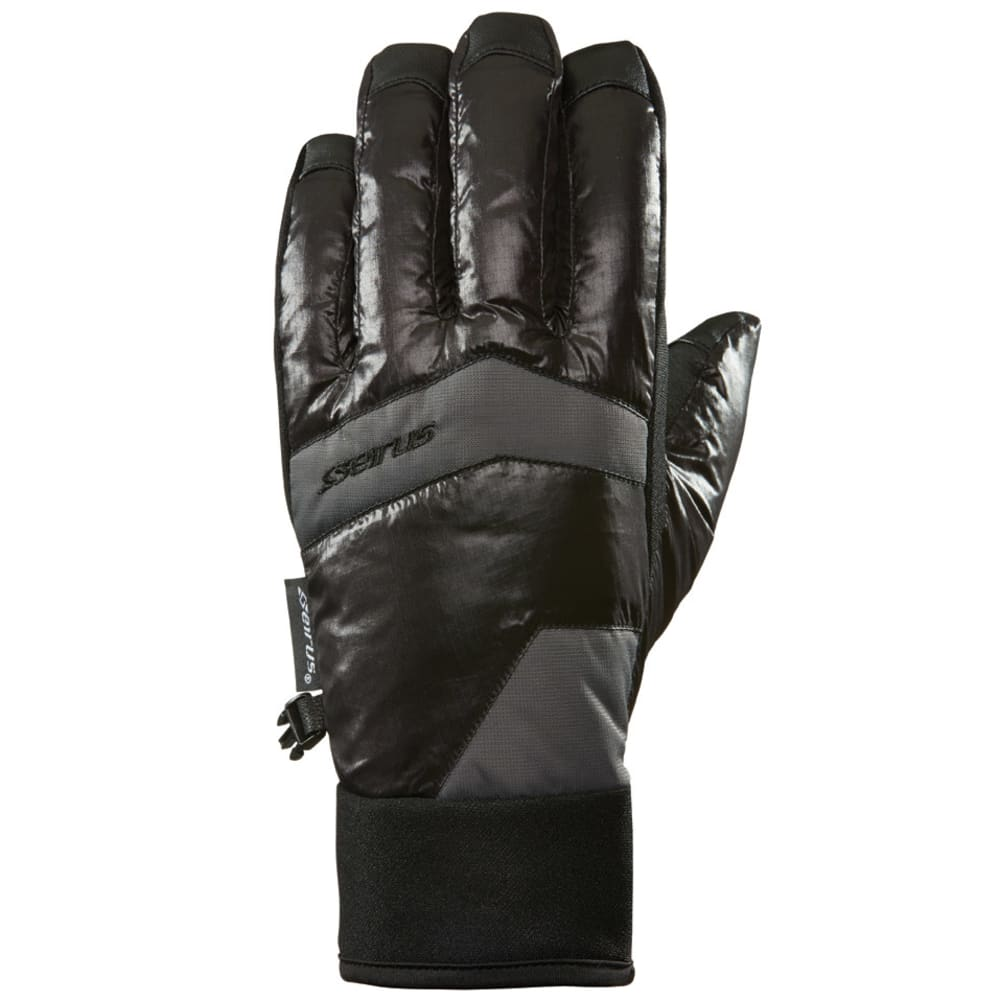 SEIRUS Men's Solarsphere Brink Gloves - BLACK
