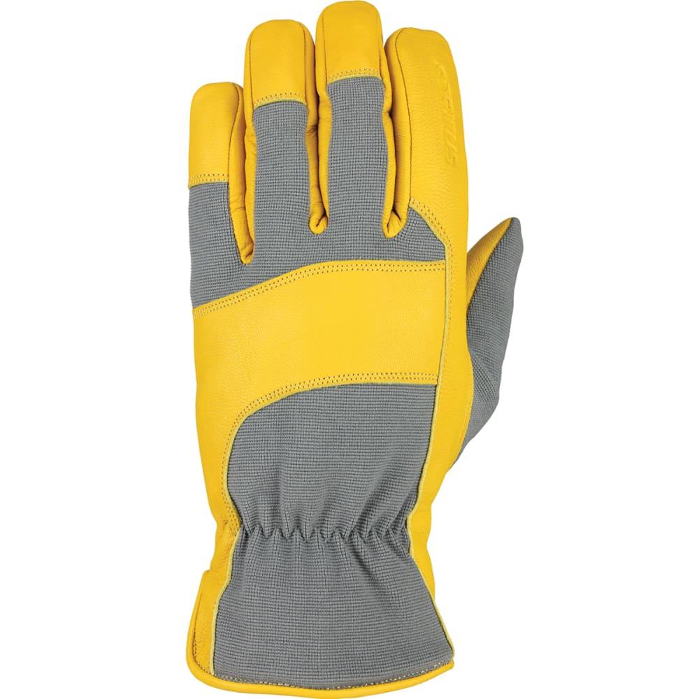 SEIRUS Men's HWS Heatwave Workman Leather Gloves - GREY