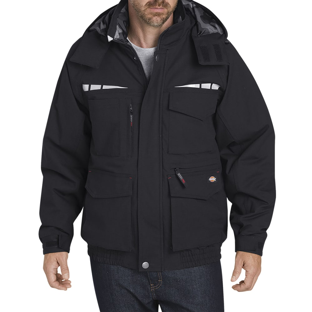 DICKIES PRO Men's Cordura Bomber Work Jacket - BLACK