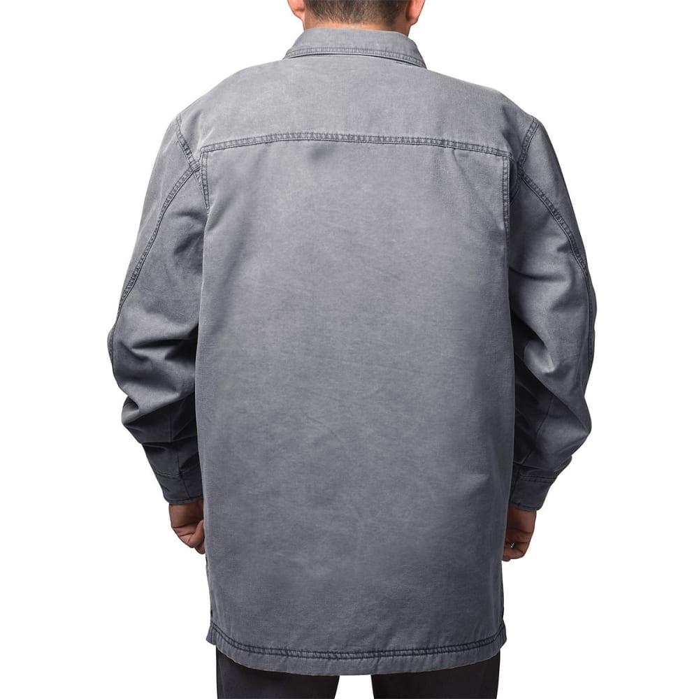 WALLS Men's Vintage Duck Shirt Jacket - WGA9 WASHED GRANITE