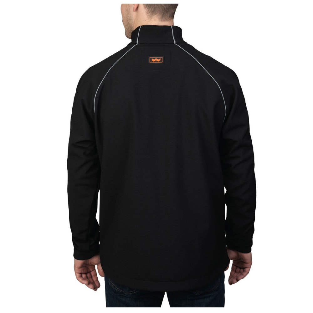 WALLS Men's Storm Protector Solid Soft-shell Jacket - MK9 MIDNIGHT BLBLACK