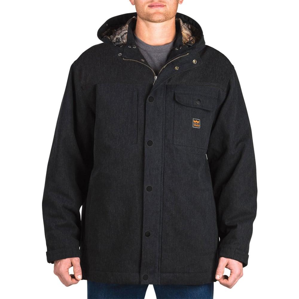 WALLS Men's Workwear Hooded Parka With Kevlar - MK9 MIDNIGHT BLACK