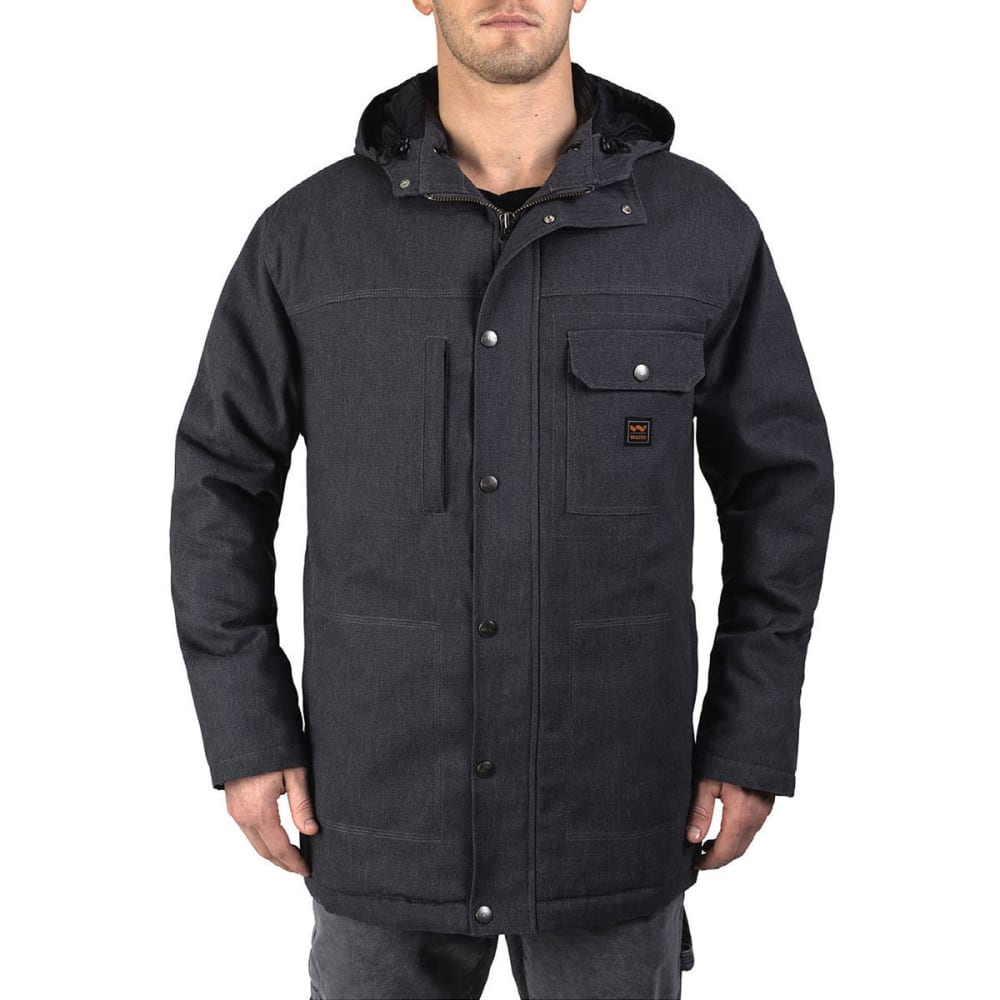 WALLS Men's Workwear Hooded Parka With Kevlar - GA9 GRAPHITE
